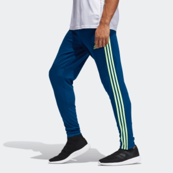 07dea8e2 adidas Pants | Addisas Tiro 19 Training Blue And Green Sz M | Poshmark
